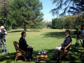 Macri: de no aprobarse el acuerdo con los holdous, se irá a un ajuste o hiperinflación