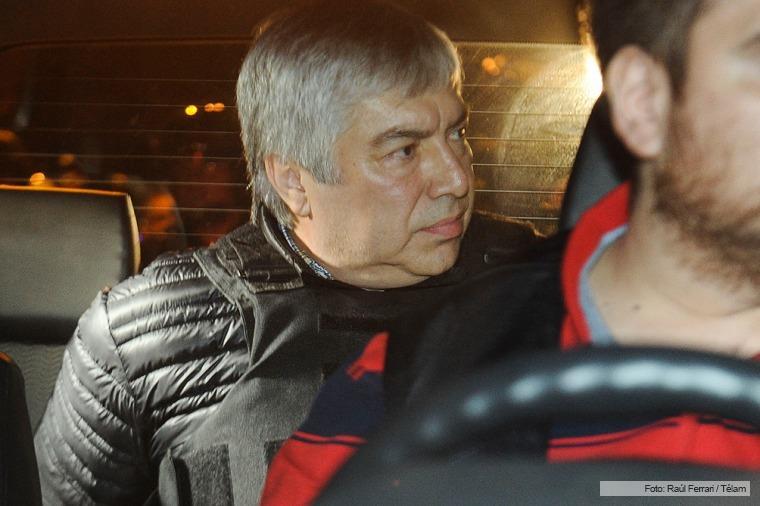 Lázaro Báez detenido