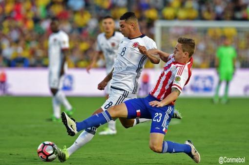 Colombia fue efectiva y le ganó a Paraguay