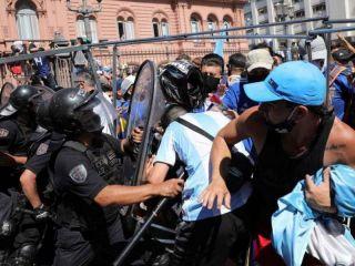 Cruces y reproches entre Nación y Ciudad por la desorganización en el velatorio de Maradona