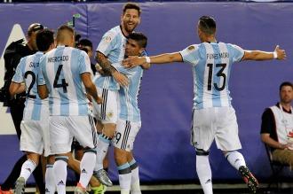 Messi goleó a Panamá