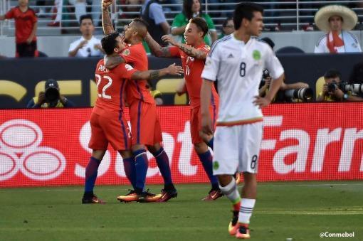 Chile bailó a México 7 a 0