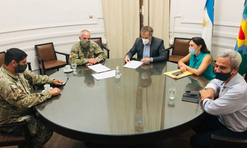Convenio entre la Municipalidad y el Ejército