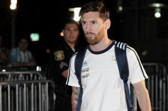 Todos están con Messi