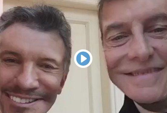 La reunión de Macri y Tinelli