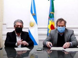 Conferencia de prensa del Intendente Javier Martínez y el Secretario de Gobierno Juan Manuel Rico Zini