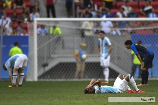 ¡Argentina fue eliminada por Honduras!