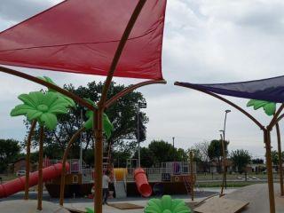 Más juegos en Parque Belgrano