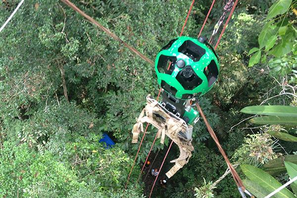 Street View en la selva amazónica