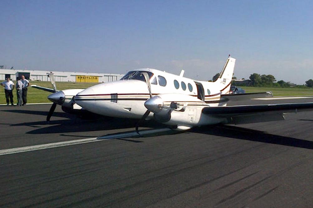 Beechcraft C90 matrícula LV-CEO
