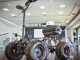 La fábrica misionera Hamelbot lanzó un nuevo vehículo eléctrico utilitario y recreacional