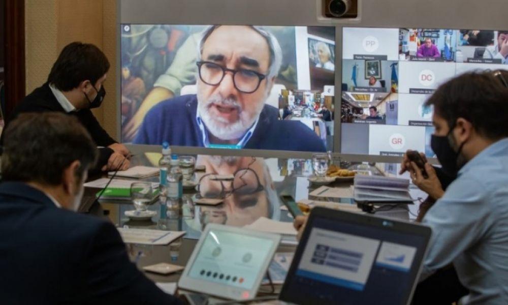 Videoconferencia Kicillof