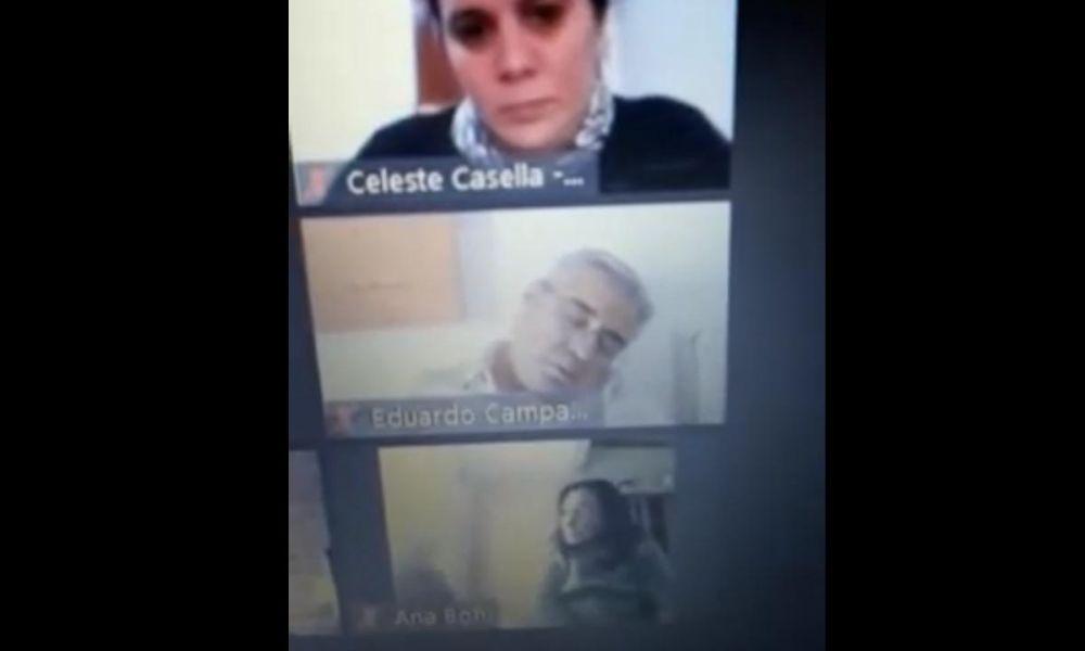 Eduardo Campana en Zoom