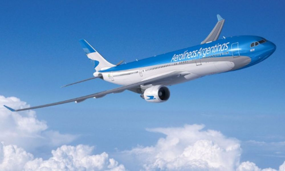 Vuelo de Aerolíneas Argentinas a Moscú