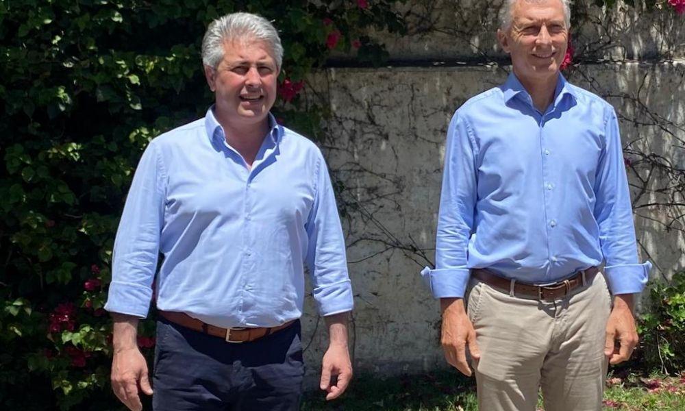 Martínez y Macri