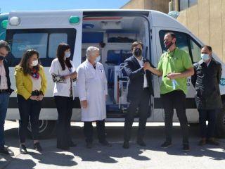 La Provincia repartió ambulancias en los municipios
