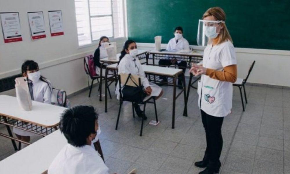 Vacunación a docentes