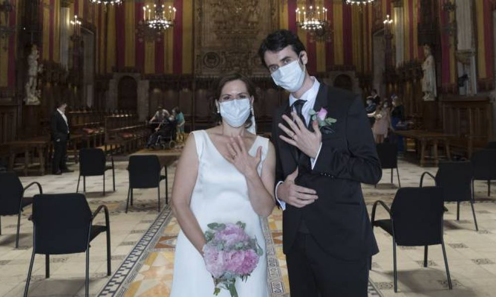 Se habilitaron los casamientos