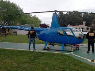 Se filmaron cazando jabalíes desde un helicóptero en una localidad bonaerense