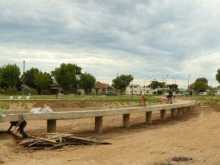 Pergamino: El avance de las obras en Parque Belgrano
