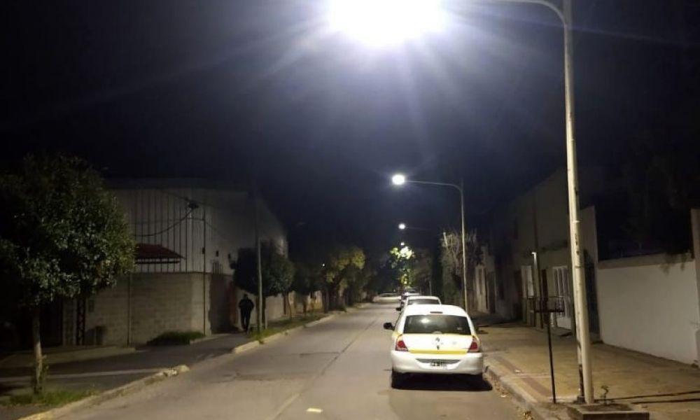Barrio Acevedo,  luces como nunca