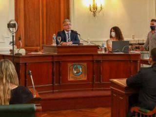 El Intendente inauguró el período de Sesiones Ordinarias 2021 del HCD