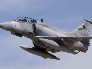 Córdoba: Se estrelló un avión de la Fuerza Aérea