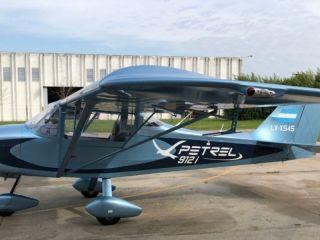 Petrel 912: El primer avión eléctrico del país