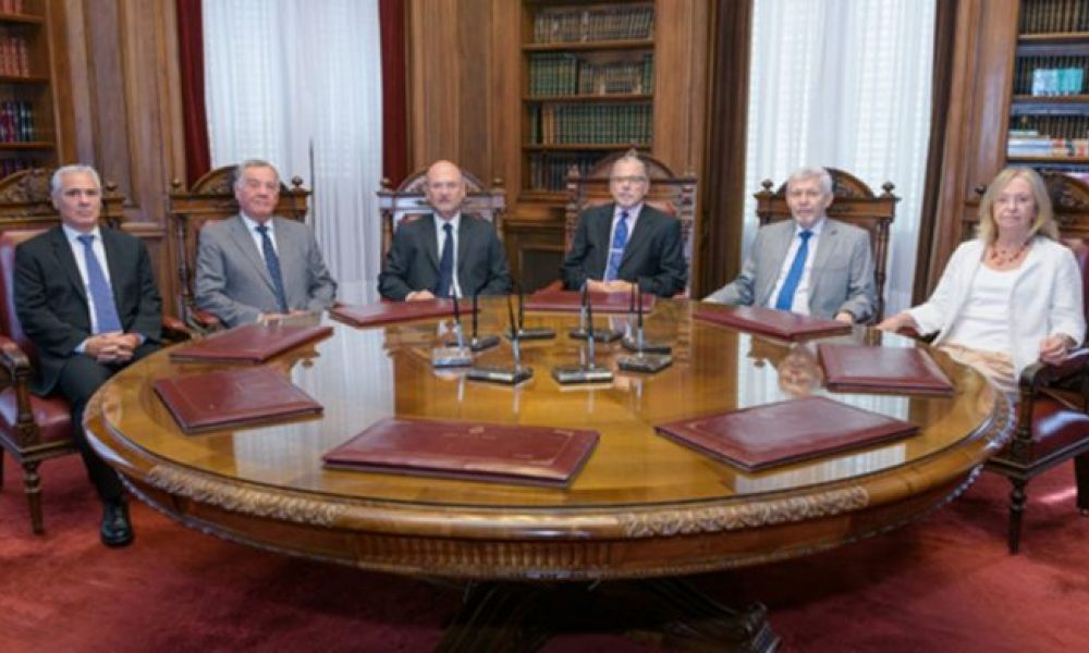 Jueces de la Corte bonaerense